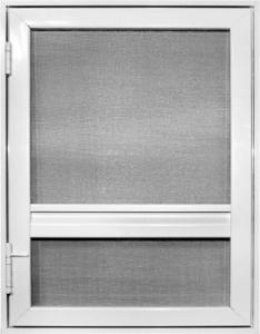 sieťkové dvere s rámom